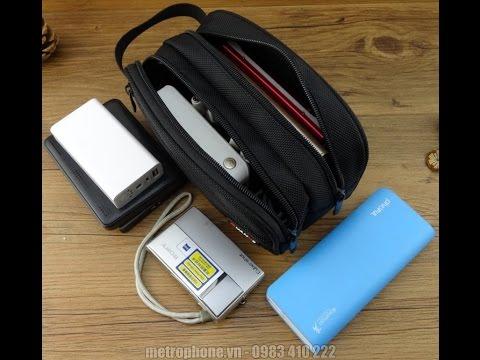 Túi đựng đồ công nghệ ổ cứng, Pin dự phòng, sạc cáp.