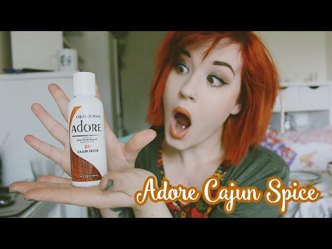 Adore Cajun Spice Hair Dye