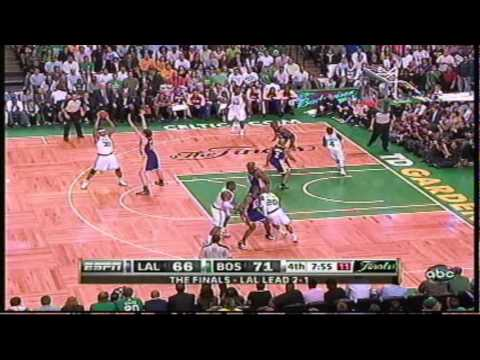 2010 NBA Finals, Lakers Vs Celtics game 4