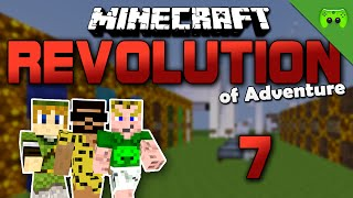 MINECRAFT Adventure Map # 7 - Revolution of Adventure «» Let