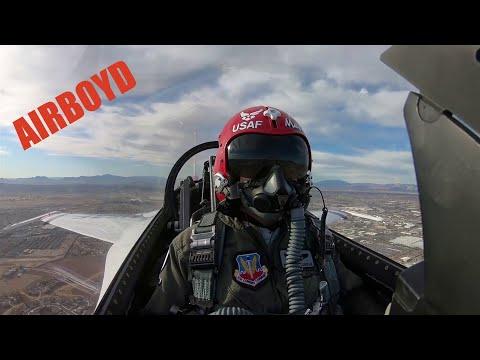 "Thunderbirds Training Flight • Capt. Michelle Curran  ""Opposing Solo"""