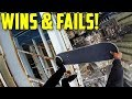JUST SEND IT - Skateboarding Wins and Fails 2018!