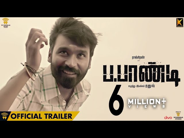 Power Paandi - Official Trailer | Rajkiran | Dhanush | Sean Roldan | Releasing on April 14th
