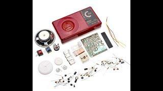 Обзор радиоконструктора для сборки радиоприемника на 7 транзисторах