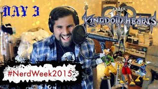 Kingdom Hearts - Simple and Clean (Vocal Cover by Caleb Hyles) - #NerdWeek2015