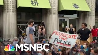 Minneapolis Mayor Booed By Protesters After Refusing To Defund The Police | MSNBC