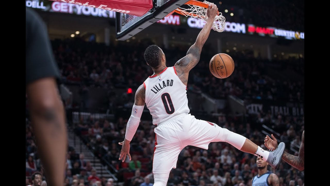 Top 5 Dunks of the 2017-18 Portland Trail Blazers Season ...
