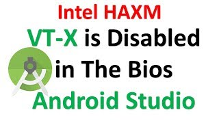 VT-x is Disabled in The Bios Android Studio | Enable it from Bios | Android Studio tips