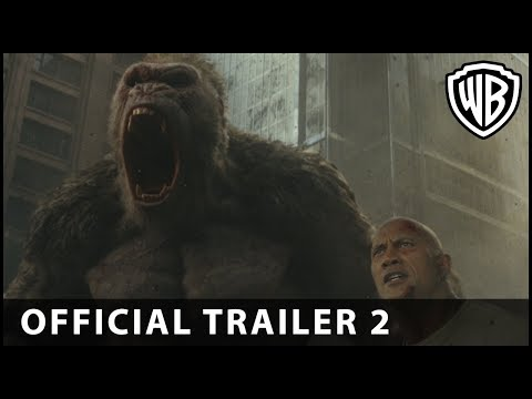 Rampage is King Kong meets Godzilla - with The Rock (and a