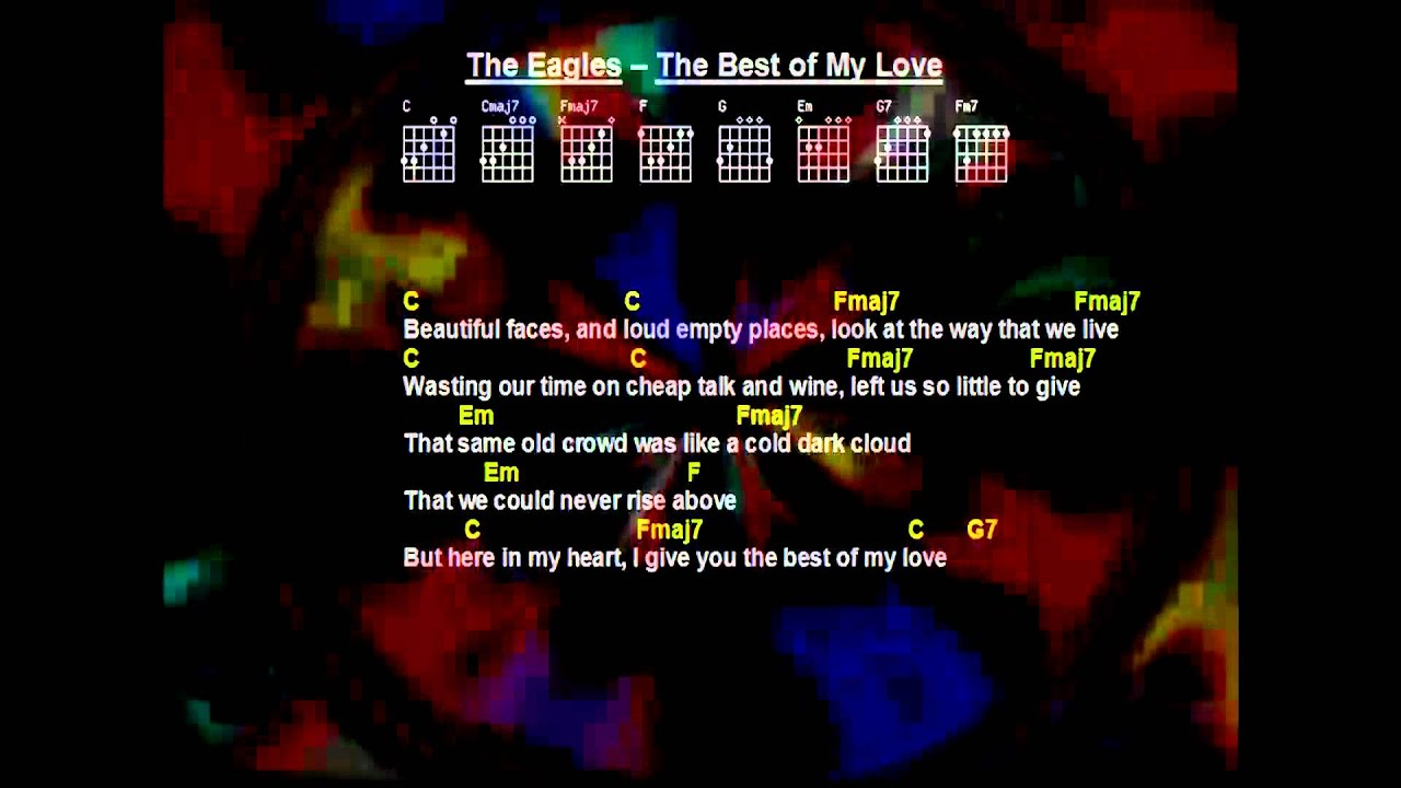 Eagles Try And Love Again Lyrics