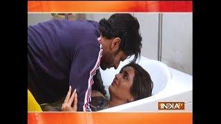 Video Qayamat Ki Raat: Raj and Gauri romance in Bathtub download MP3, 3GP, MP4, WEBM, AVI, FLV November 2018