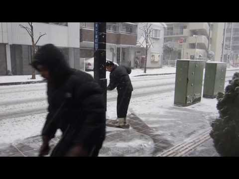 16 yrs later : Heaviest Snowfall ~ Chiba, Japan | 001