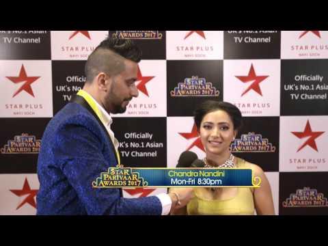 Star Parivaar Awards 2017: Shweta Basu Prasad from 'Chandra Nandini'