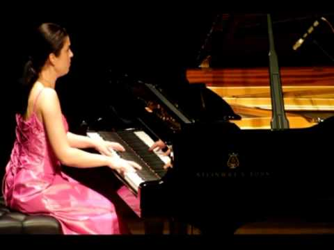 Esther Birringer - Brahms  Variations on a Theme of Paganini op. 35 Book I  Part II  -  Live.MPG