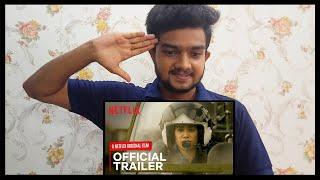 Gunjan Saxena - The Kargil Girl Trailer REACTION | Pankaj Tripathi, Janhvi Kapoor | Anurag Sharma