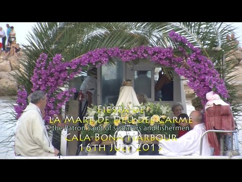 Cala Bona, Fiesta Mare de Déu del Carme,16th July 2015