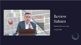 Review Saham 13 Juli 2020