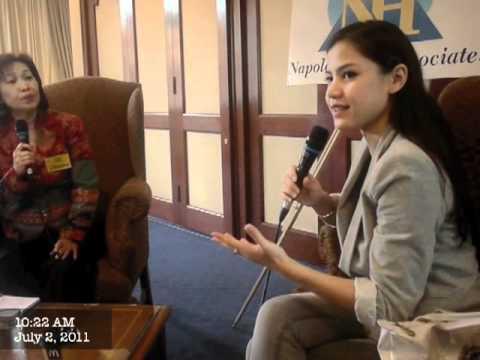DZMS TV : My Success Story Dialog With Lisa Surihani..  PART 1