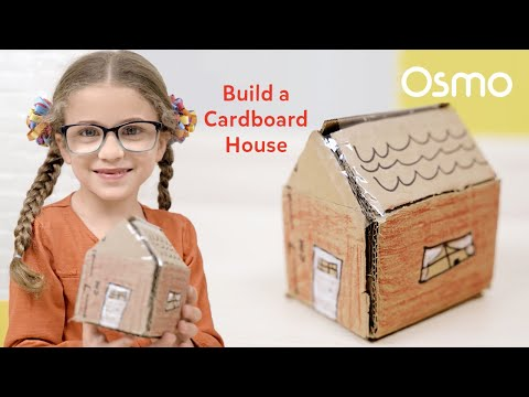 How to Make a Cardboard House: Easy Crafts to Do at Home | Osmo