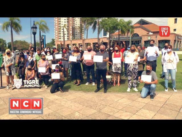 CINCO TV - Julio Zamora encabezó un acto a 45 años del último golpe cívico militar