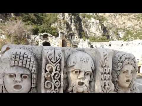 Myra Rock Tombs, Turkey