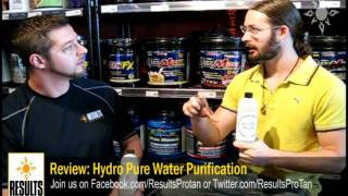 Review: Hydro Pure Water Purification for Muscle Building and Fat Loss (Black Mica)