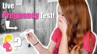 EMOTIONAL LIVE PREGNANCY TEST! TTC BABY #2