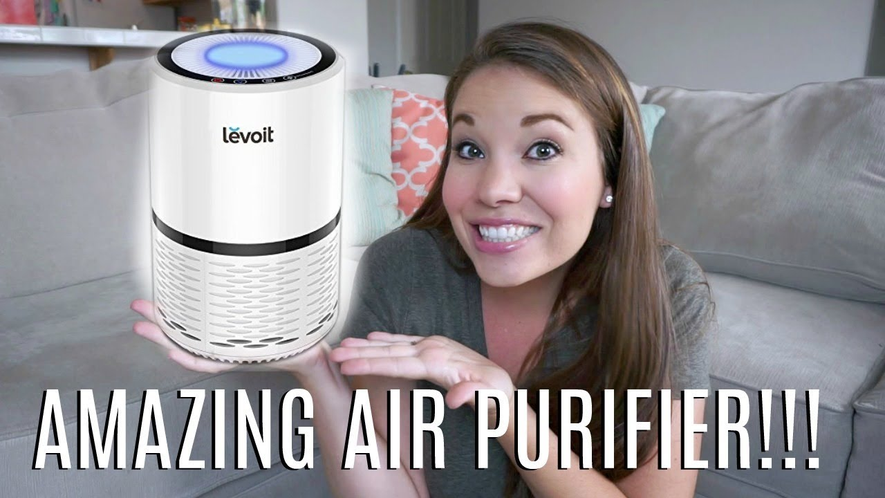 compact air purifier review levoit lv h132 days of may youtube. Black Bedroom Furniture Sets. Home Design Ideas