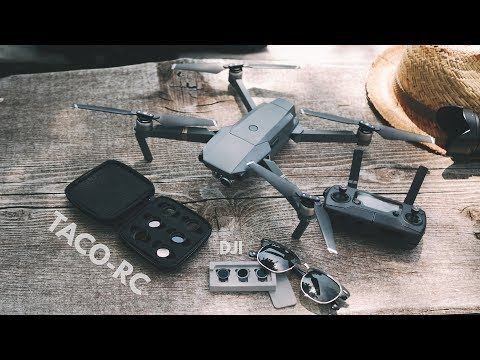 DJI MAVIC PRO TACO-RC ND FILTERS VS DJI ORIGINAL ND FILTERS