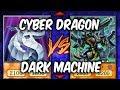 Duel Week: CYBER DRAGONS vs DARK MACHINES (Yugioh Deck Mastery)