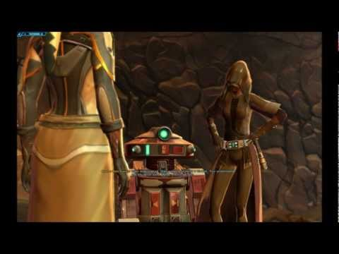 SWtOR Jedi Knight Story Cutscenes Pt. 12 [Chapter 1 / Tatooine / Light Side]