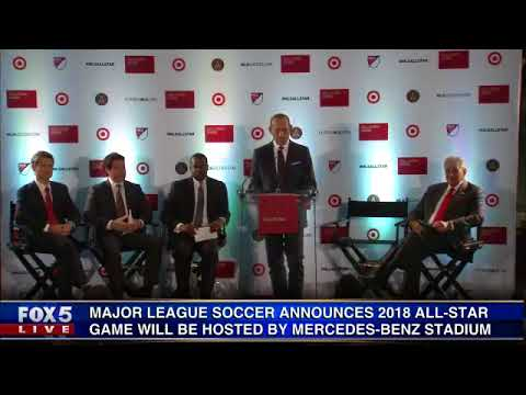 Mercedes-Benz Stadium to host 2018 MLS All-Star Game