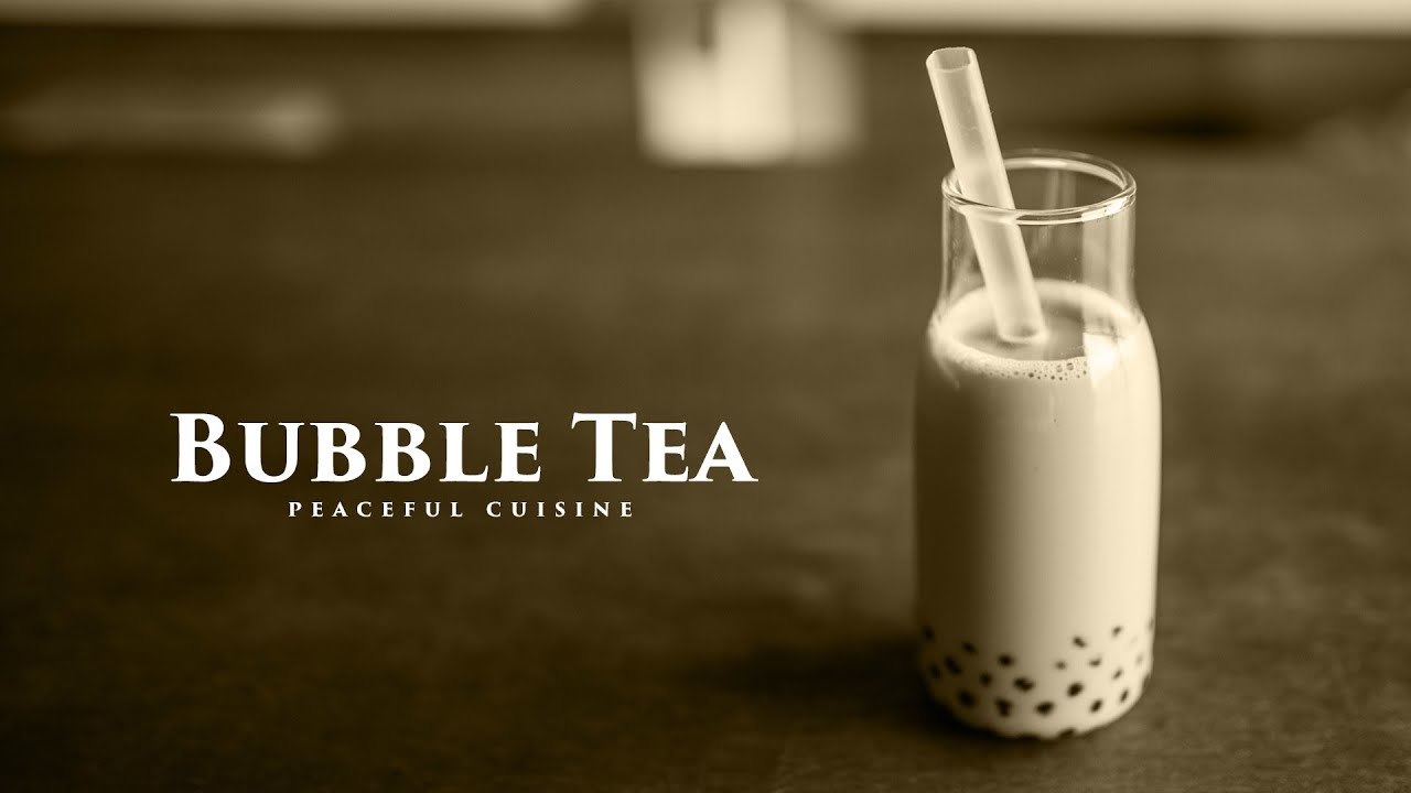 [No Music] How to make Bubble Tea