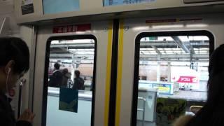 [JR East] Ride on Chuo Line(Rapid) Series E233-0 from Mitaka to Shinjuku (E233-010F)