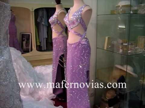 Vestidos de Novia de Mafer para Gitanas y trajes de fiesta - YouTube