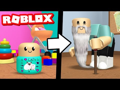GROWING OLD IN ROBLOX