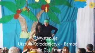 """""""Murzynek Bambo"""" - inscenizacja wiersza J. Tuwima"""