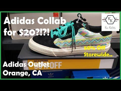 Craziest Adidas Outlet Visit Ever!! [Orange, CA]