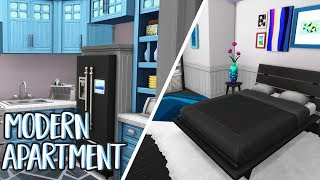 MODERN FAMILY APARTMENT  The Sims 4: Speed Build