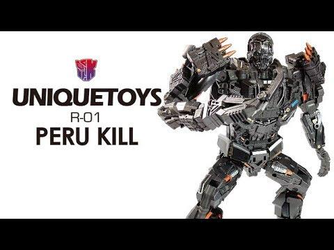 KL變形金剛玩具分享229 UT 電影AOE 地獄獵人/禁閉 Unique toys R-01 Peru Kill aka Lockdown