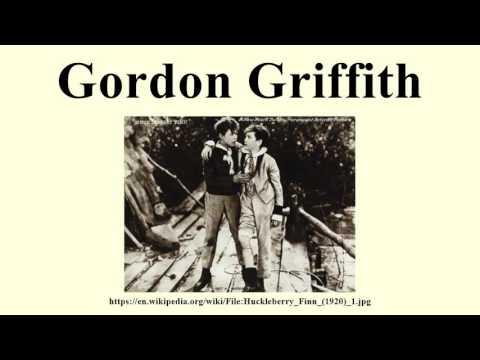 Gordon Griffith