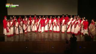 "Choir Performance / Group Singing: ""Ekla Chalo Re"" by students of Lotus Valley International School"