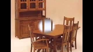 Shaker dining room furniture