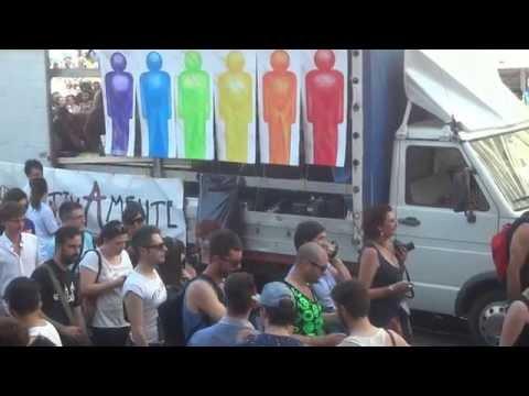 Manifestazione Roma Pride Diritti Gay Trans E Lesbiche - Video