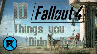 Fallout 4 | 10 Things You Didn
