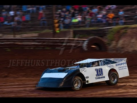 I-77 Speedway Steel Block Late Model group qualifying - Brain Thomas Motorsports #19