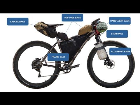 Bike Packing Set Up On Carbon Bike