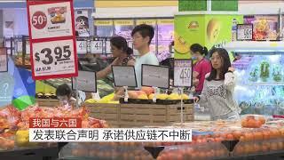 【冠状病毒19】狮城与六国承诺确保贸易供应链不受影响