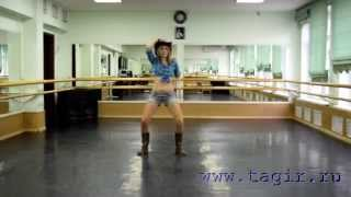 Видео уроки танца живота: Ковбойский танец (4 часть комментарии)