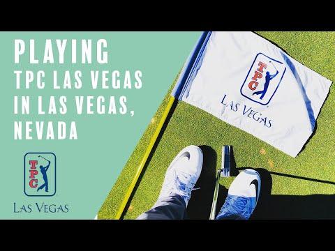 Playing TPC Las Vegas in Las Vegas, Nevada